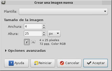 Crea imagen 4x25