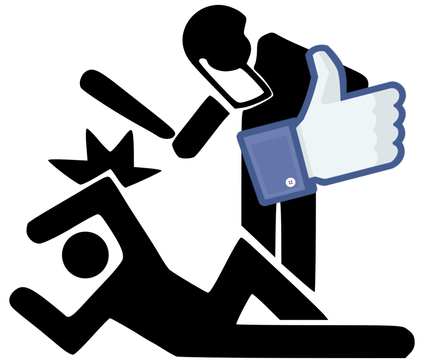 Brutalidad policial apoyada por Facebook